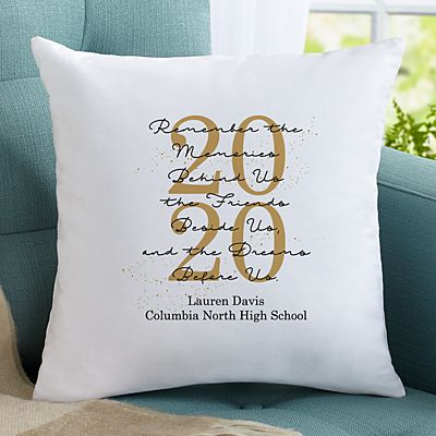 Graduation Memories Pillow