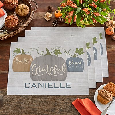 Farmhouse Pumpkins Placemats