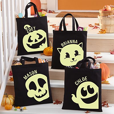 Halloween Party Glow In The Dark Treat Bag