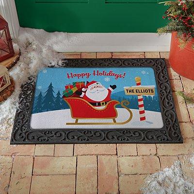 Jolly Santa Doormat