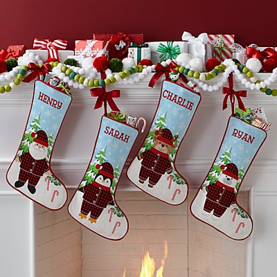 Pajama Family Stocking