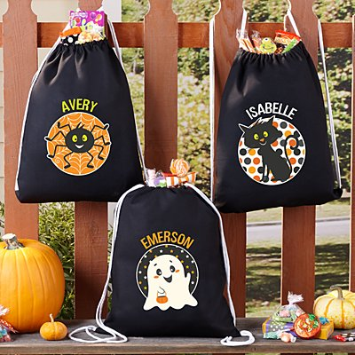 Pattern Cuties Halloween Treat Bag