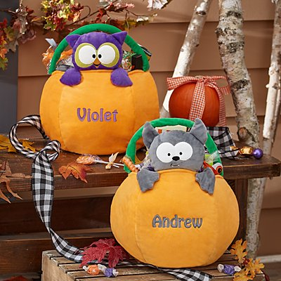 Peek-A-Boo Pumpkin Treat Bags