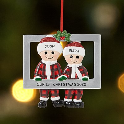 Picture Perfect Couple Ornament