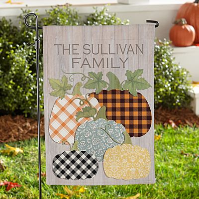 Pretty Pumpkins Garden Flag