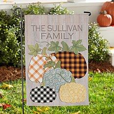 Pretty Pumpkins Garden Flag