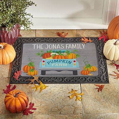Pumpkin Farm Doormat