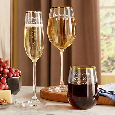 Sophisticated Elegance Gold Barware