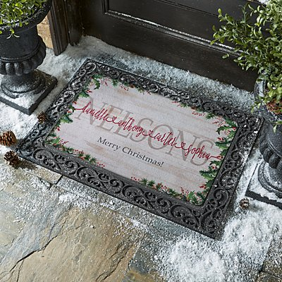 The Spirit of Christmas Connects Us Doormat