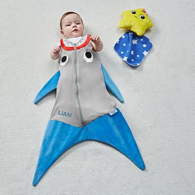 Blankie Tails® Shark Baby