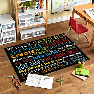 Classroom Rules Oversized Mat