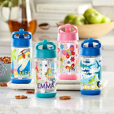 Stephen Joseph®  Fun Friends Flip Top Water Bottles