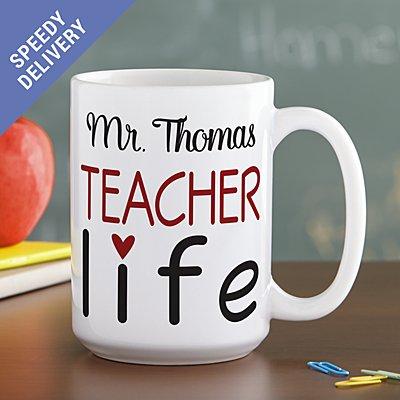 Teacher Life Mug