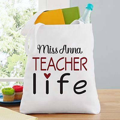 Teacher Life Tote Bag