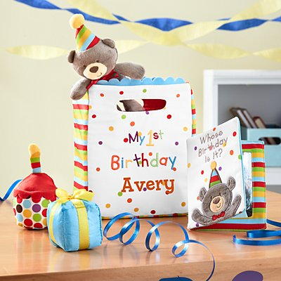 GUND® My First Birthday Plush Playset