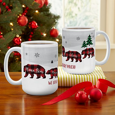 Beary Merry Family Mug