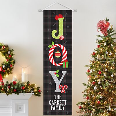 Christmas Joy Door Banner