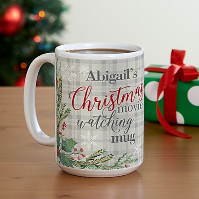 Christmas Movie Watching 15oz Mug