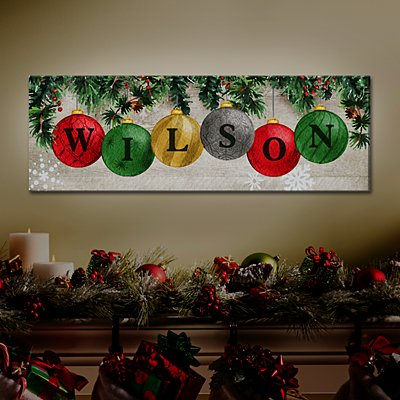 TwinkleBright™ LED Classic Bauble Canvas