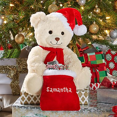 Musical Peek-A-Boo Jingle Bell Bear
