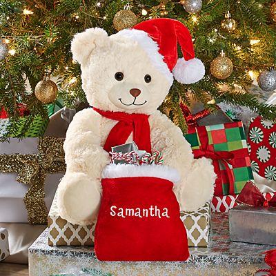 Musical Peek-A-Boo Jingle Bell Bear