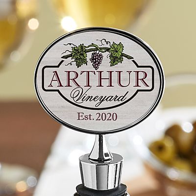 Vineyard Wine Stopper