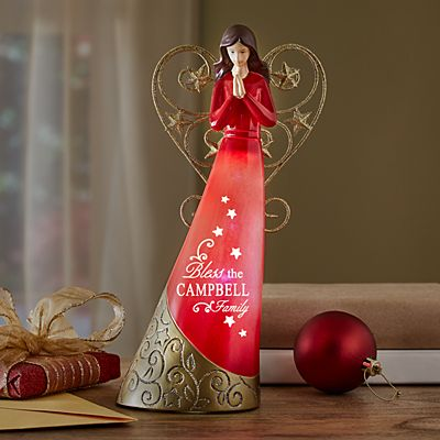 Light-Up Angel Figurine