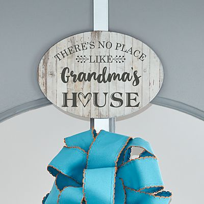 Our Favorite Place Wreath Holder with Plaque