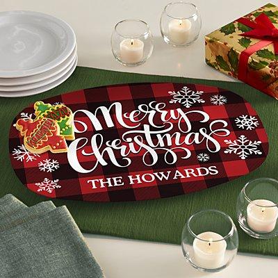 Cozy Christmas Platter