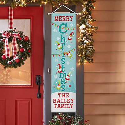 Jolly Gnome Door Banner