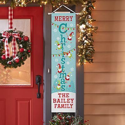 Jolly Gnome Door Banner