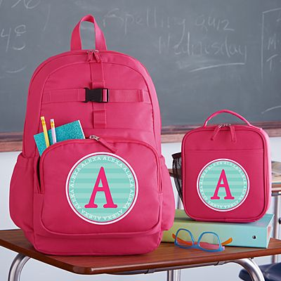 Allover Name Pink Backpack Collection