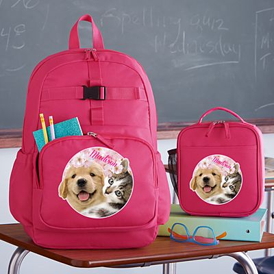 Animal With An Attitude Pink Backpack Collection