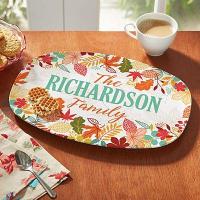 Autumn Blessings Platter