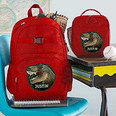 Animal With An Attitude Red Backpack Collection