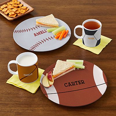 Sports Fan Personalized Tableware