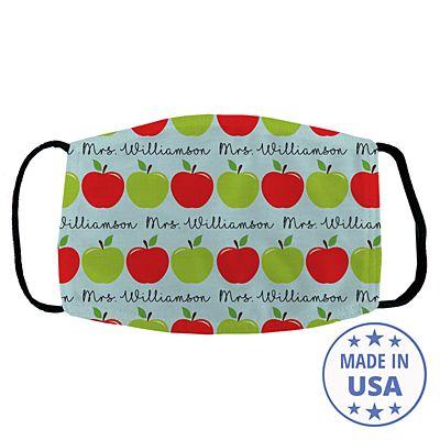 Apples for Days Teacher Face Mask