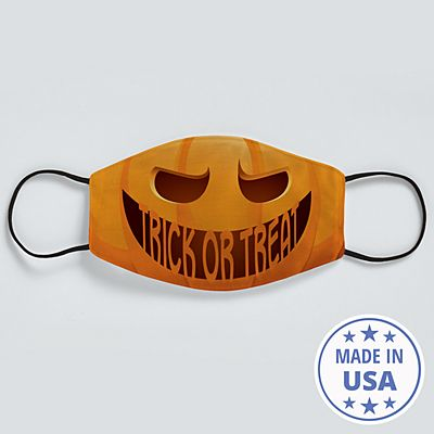 Create Your Own Jack-o-Lantern Face Mask
