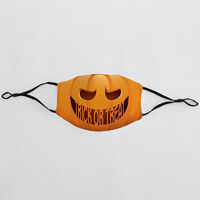 Create Your Own Jack-o-Lantern Adult Face Mask