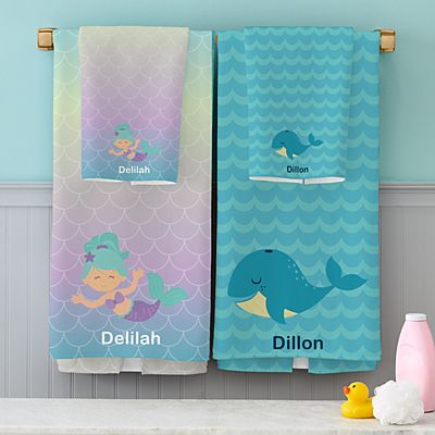 Bathtime Fun Towel Set