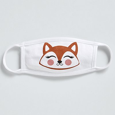 Stephen Joseph® Toddler Face Mask - Fox