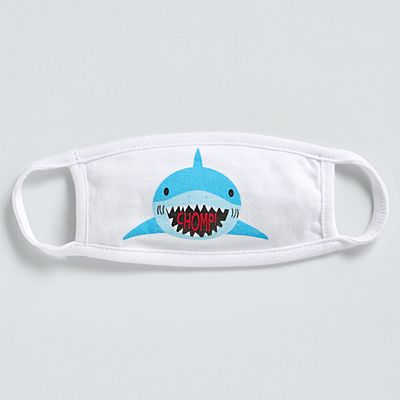 Stephen Joseph® Toddler Face Mask - Shark