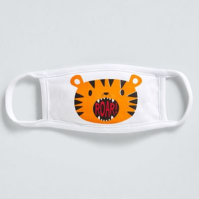 Stephen Joseph® Toddler Face Mask - Tiger