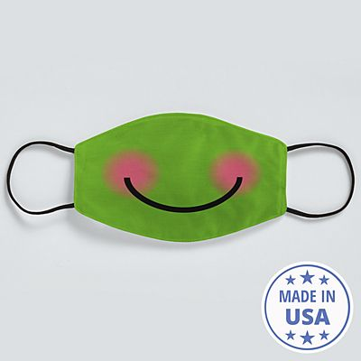 Create Your Own Funny Face Face Mask - Green