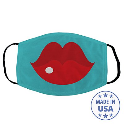 Create Your Own Funny Face Face Mask - Teal