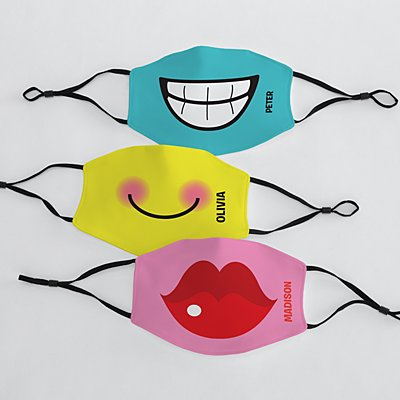 Create Your Own Funny Face Adult Face Mask