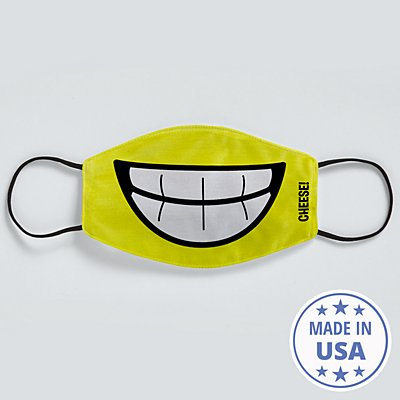 Create Your Own Funny Face Face Mask - Yellow