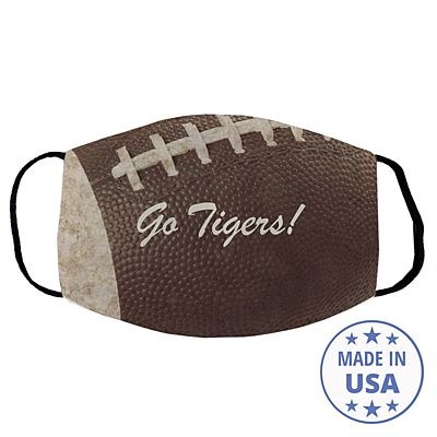Sports Galore Face Mask - Football - Script