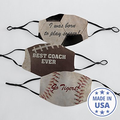 Sports Galore Adult Face Mask