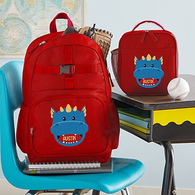 Big Face Red Backpack Collection